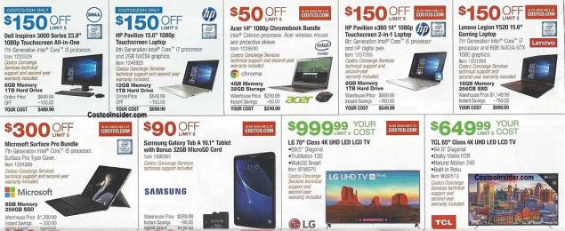 Costco August 2018 Coupon Book Page 10