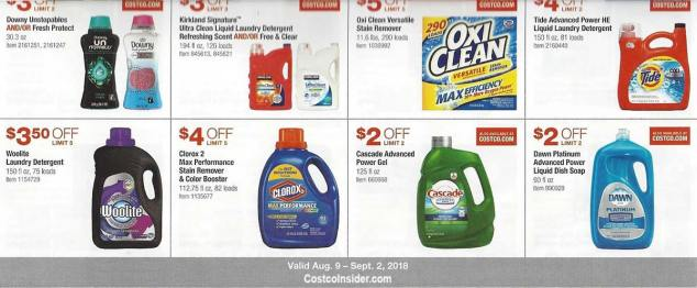 Costco August 2018 Coupon Book Page 19