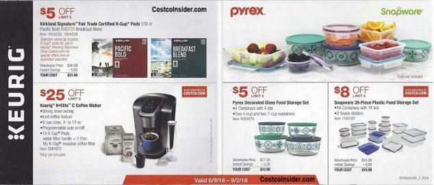 Costco August 2018 Coupon Book Page 2