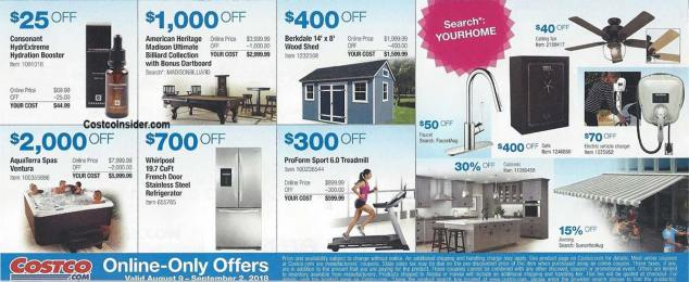 Costco August 2018 Coupon Book Page 8