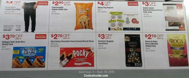Costco September 2018 Coupon Book Page 17
