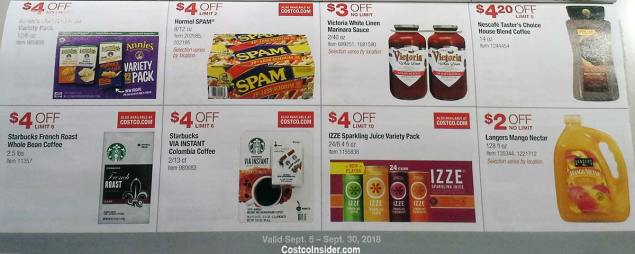 Costco September 2018 Coupon Book Page 19