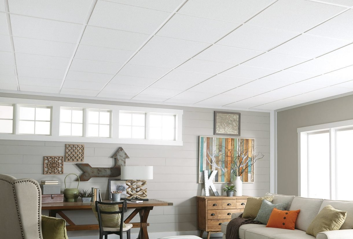 how much does acoustic ceiling tile cost