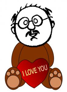 larry head bear