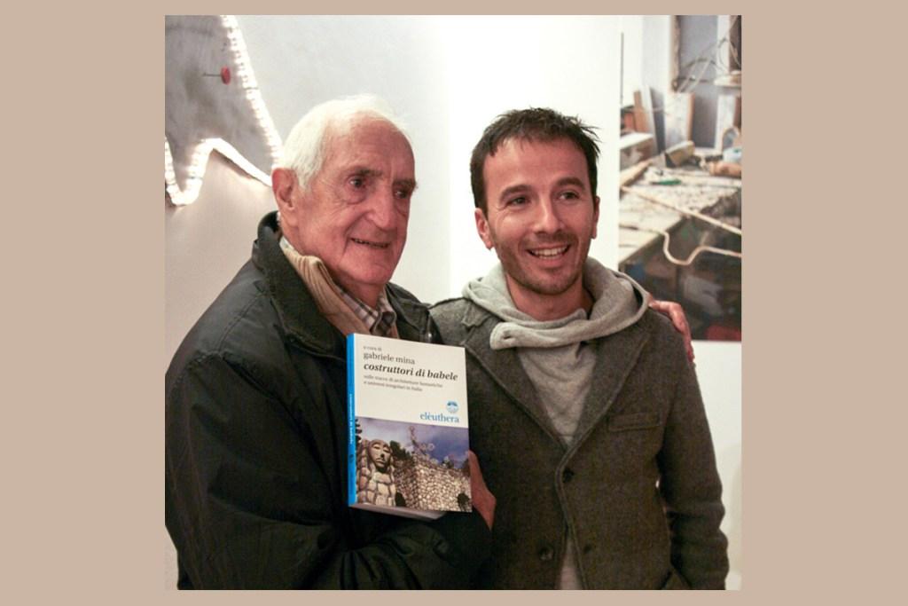 Con Mario Andreoli