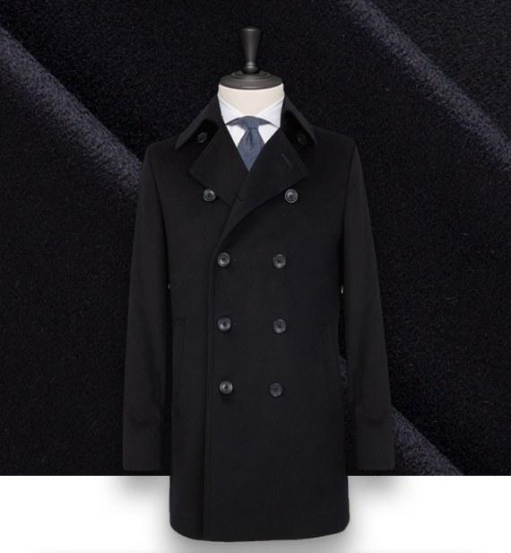 Manteau Caban Bleu navy