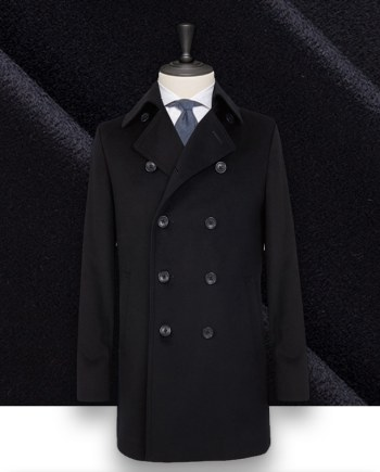 Manteau Caban Bleu navy