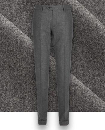 pantalon gris flanelle pantalon hiver sur mesure