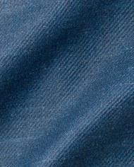 Costume cérémonie bleu indigo CP tissu