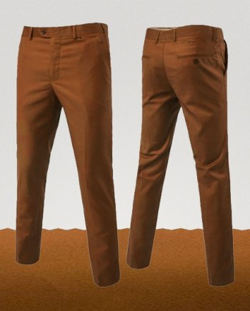 pantalon chino orange abricot homme