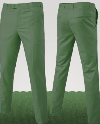 pantalon homme vert amande homme