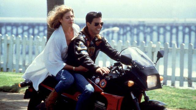 blouson cuir aviateur Tom Cruise