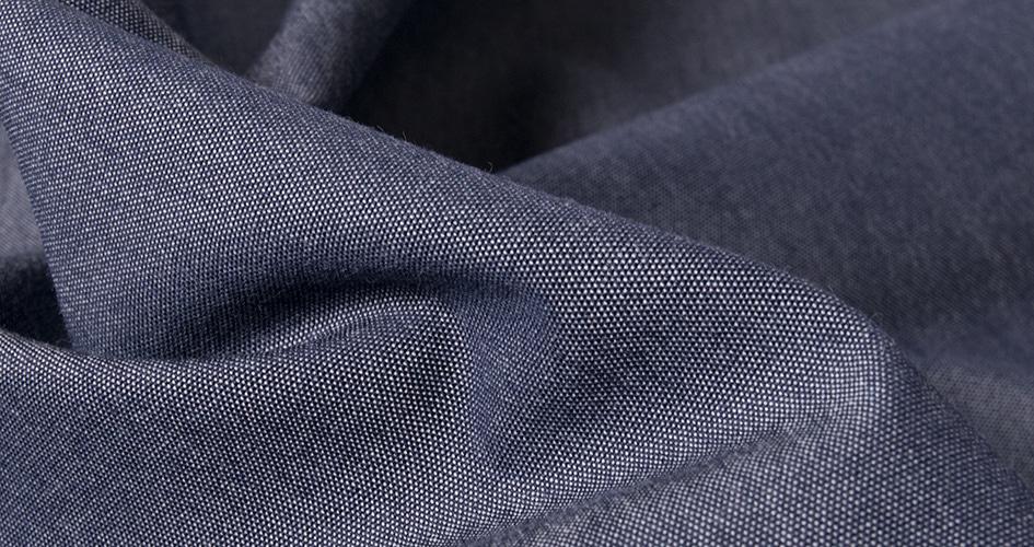 Choisir tissu chemise chambray sur mesure