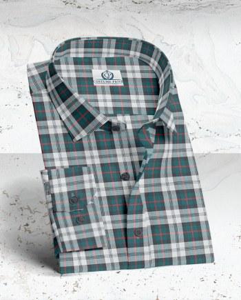 Chemise carreaux vert large rouge FW20 chemise sur mesure