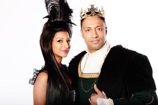 KING HENRY V111 STYLE COSTUME B