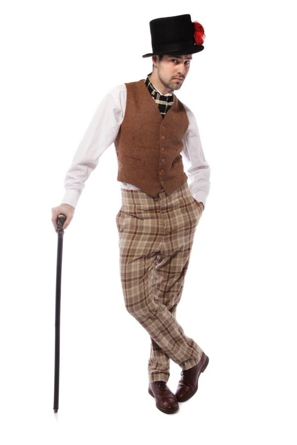 1920s YOUNG GENT TWEED COSTUME alt