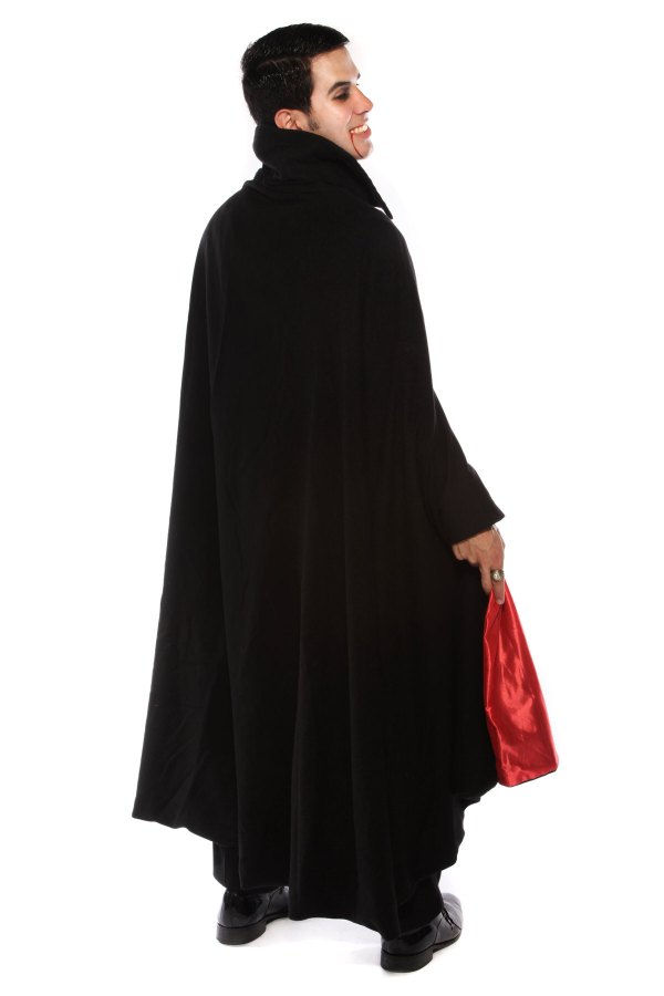 DELUXE DRACULA COSTUME WITH CAPE s