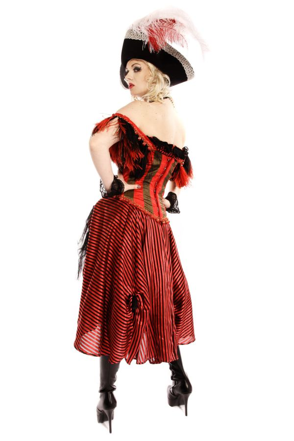 SWASHBUCKLER PIRATE LADY COSTUME back