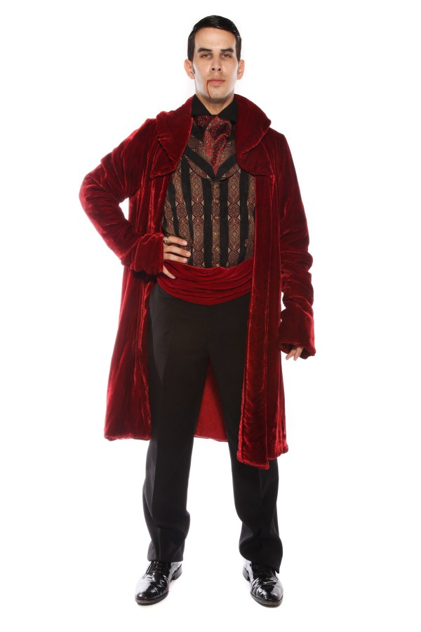 SUPER DELUXE VAMPIRE COUNT COSTUME