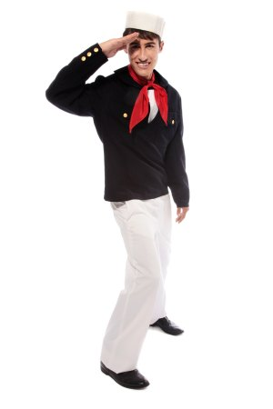 SAILOR SHORT JACKET NAVY COSTUME