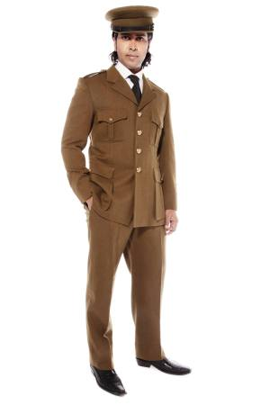 WW11 BRITISH ARMY OFFICER COSTUME