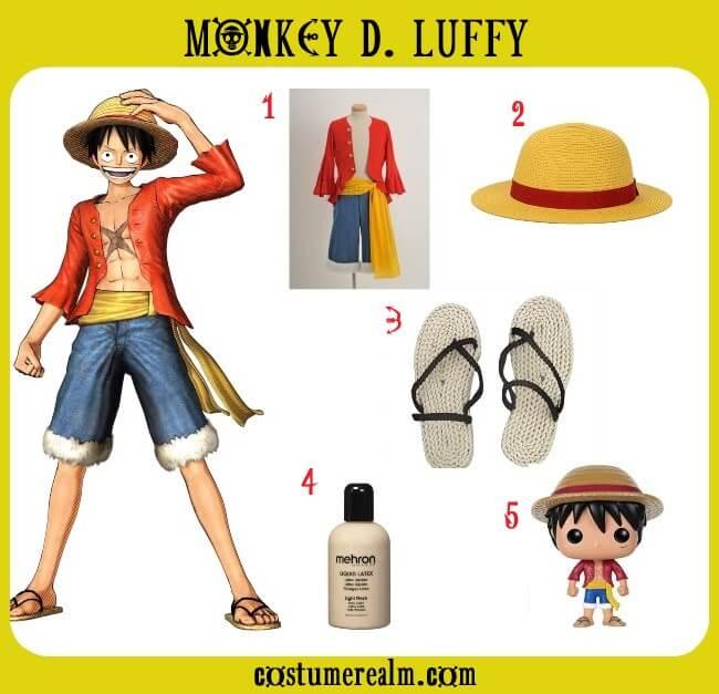 I'm monkey 228 i know monkey 122. One Piece Monkey D Luffy Costume Guide