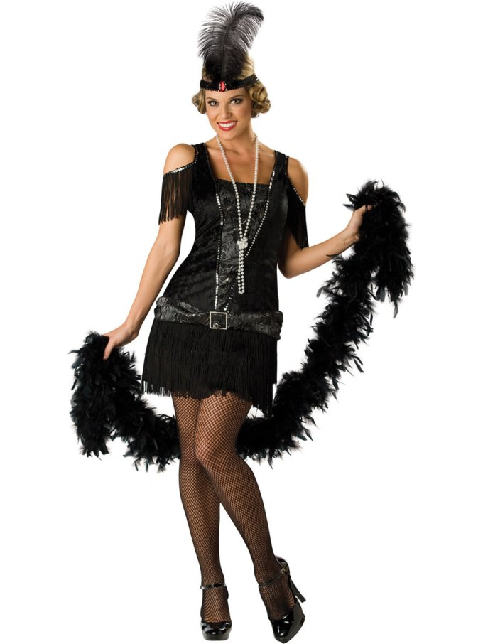 Flapper Dress Costume | CostumesFC.com