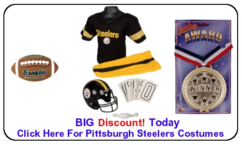 Pittsburgh Steelers Costumes