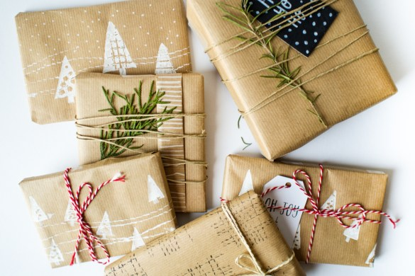 DIY |Gift wrapping paper