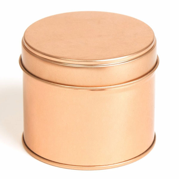 boite a bougie ronde en or rose couture laterale soudee 100ml