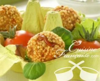 Boulettes provençales au quinoa