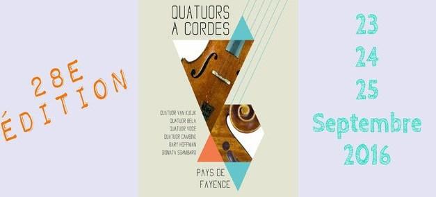 Festival de Quatuors à Cordes en Pays de Fayence