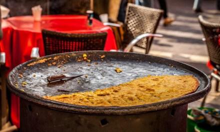 Photo de la semaine : La socca du cours Saleya