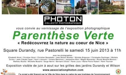 Exposition Parenthèse verte : Redécouvrez la nature au coeur de Nice