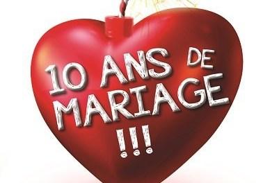 10 ans de mariage!!! Spectacle