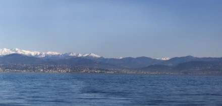 Photo de la semaine : Vue d'Antibes