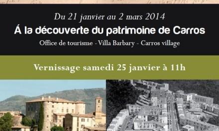 Exposition : À la découverte du patrimoine de Carros