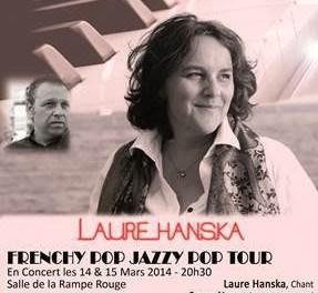 "Laure Hanska – Concert ""Frenchy Pop Jazzy Pop"" Tour"