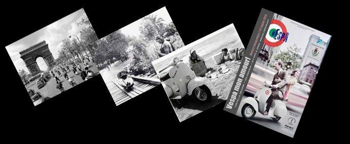 Exposition photographique Vespa Mon Amour