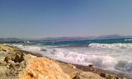 Photo de la semaine : Bord de Mer entre Antibes et Nice
