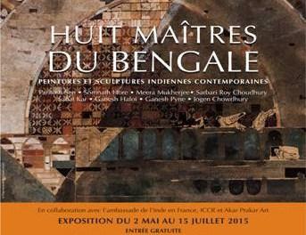 Exposition Huit maîtres du Bengale