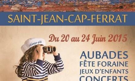 Saint Jean Cap Ferrat du 1er au 30 juin 2015