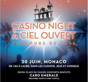 Casino Nights à Ciel Ouvert