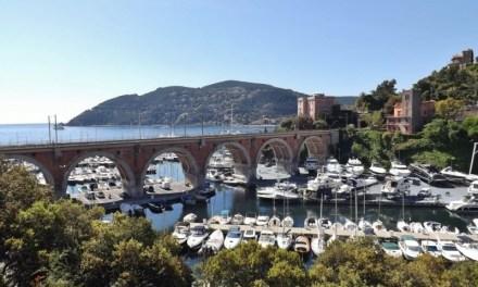 Photo de la semaine : Vue du port et du viaduc ferroviaire de La Rague