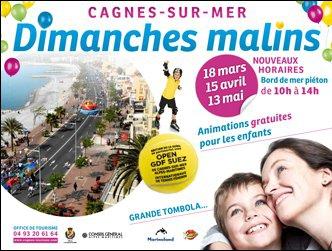 Dimanches Malins à Cagnes-sur-Mer