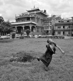 Exposition Voyages chez les enfants moines