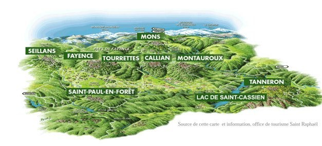 Les villages perchés du Pays de Fayence