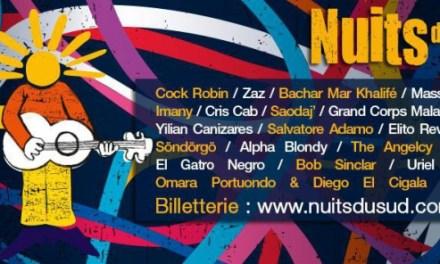 Festival Les Nuits du Sud 2016