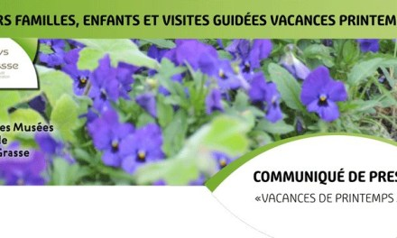 Ateliers et visites guidées vacances de printemps 2016