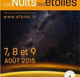 Les Nuits des étoiles 2015